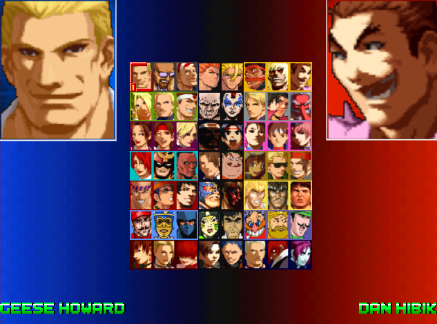King of Fighters 20x2 - A project for the UFGE engine (0.8 BETA RELEASED!) 20x2select